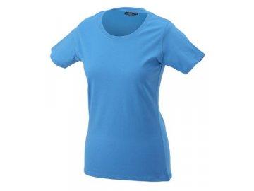 Dámské tričko Basic-T (Barva Žlutá, Velikost oděvů XXL)