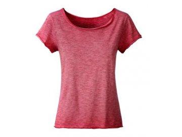 Dámské tričko z Bio bavlny chilli