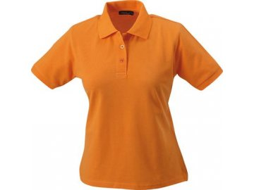 Dámská polokošile Classic Polo (Barva Žlutá, Velikost oděvů XXL)