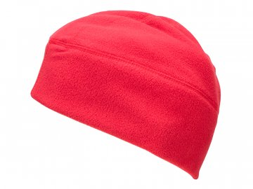 Pracovní fleece čepice MB7108 červená