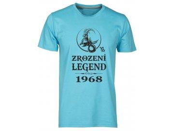 Pánské tričko s potiskem ZROZENÍ LEGEND se znamením KOZOROHA atol 34791d1647