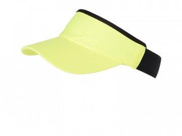 Sportovní kšilt proti sluníčku žlutá