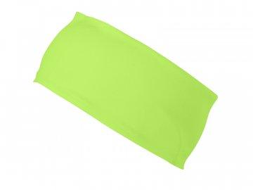 Sportovní běžecká čelenka regulující vlhkost zelená