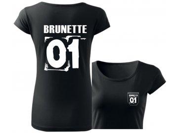 tricko brunette 01 cerna