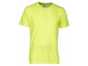 Pánské tričko Sunset fluo žlutá