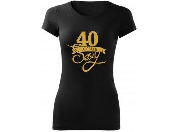 stale sexy 40 černa