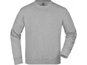 jn840 workwear sweatshirt grey unisex.41199 master 340x400