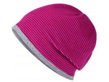 MB7127 Módní strečová fleecová čepice růžová
