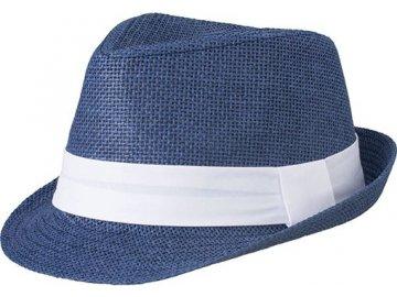 Lehký letní městský klobouk denim