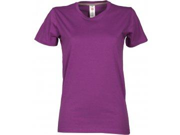 Dámské tričko Sunset fialová