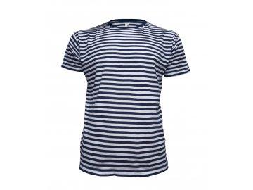 Klasické námořnické tričko s krátkým rukávem modrá