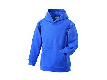 Dětská mikina Hooded Sweat Junior (Barva Bílá, Velikost oděvů XXL)
