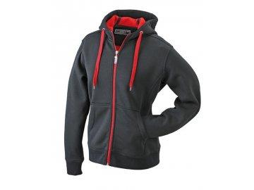 Dámská mikina Doubleface Jacket (Barva Šedá sportovní - Modrá námořní, Velikost oděvů XXL)