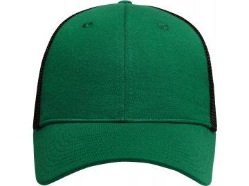 Elastická mesh kšiltovka zelená