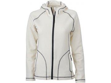 Dámská bunda Strechfleece Jacket (Barva Červená - carbon, Velikost oděvů XXL)