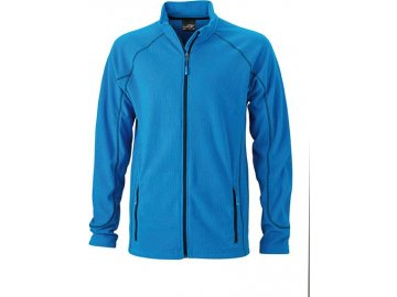 Pánská bunda Structure Fleece Jacket (Barva Žlutá - carbon, Velikost oděvů XXL)