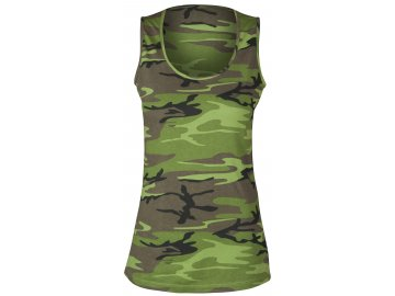 Tílko dámské camouflage