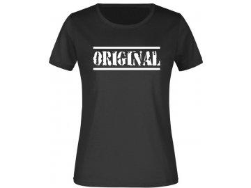 Dámské tričko Originál černá