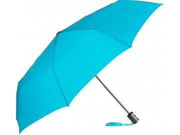 Malý deštník s manuálním otevíráním petrol