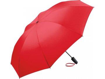 Exkluzivní automatický deštník s revoluční konstrukcí a kvalitnímwindproff systémem červená