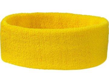 Lehká taška s ozdobným držadlem žlutá
