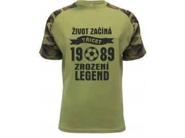 Zrozeni legend 30 let fotbal camouflage