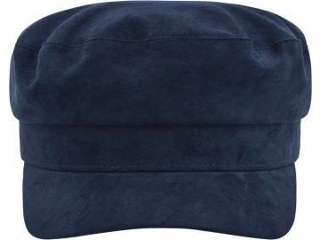 Kapitánská čepice v retro vzhledu modrá námořní