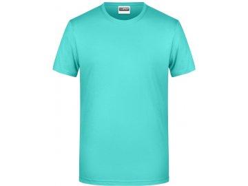 Pánské tričko z Bio bavlny mátová