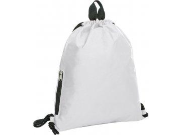 Velký batoh, stahovací vak bílá