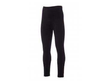 Příjemné pánské termo kalhoty černé