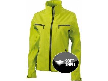 Dámská softshellová bunda Tailored (Barva Bílá, Velikost oděvů XXL)