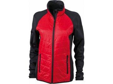 Dámská bunda Hybrid Jacket (Barva Černá - žlutá - černá, Velikost oděvů XXL)