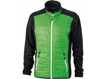 Pánská bunda Hybrid Jacket (Barva Černá - žlutá - černá, Velikost oděvů XXL)