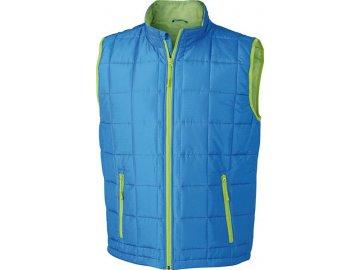 Pánská vesta Padded L Weight Vest (Barva Červená - černá, Velikost oděvů XXL)