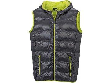 Pánská vesta Down Vest (Barva Žlutá - carbon, Velikost oděvů XXL)