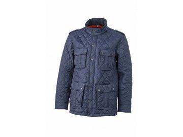 Pánská bunda Diamond Quilted Jacket (Barva Modrá námořní, Velikost oděvů XXL)