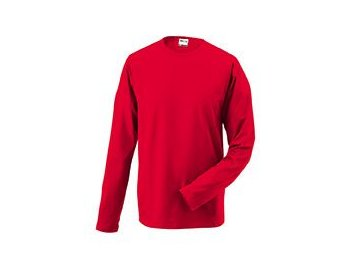 Pánské triko Elastic -T Longsleeved (Barva Bílá, Velikost oděvů XXL)