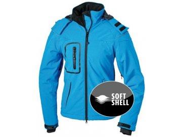 Dámská zimní Softshell bunda (Barva Červená, Velikost oděvů XXL)