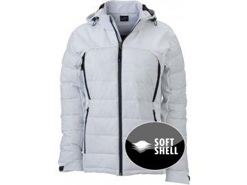 Dámská Thermo bunda v atraktvním mixu materiálů