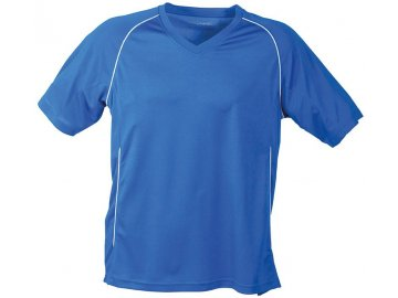 Pánské triko Team Shirt (Barva Žlutá - černá, Velikost oděvů XXL)