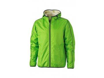 Pánská bunda Winter Sports Jacket (Barva Zelená jarní - Bílá základní, Velikost oděvů XXL)