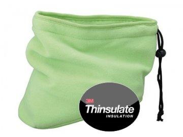 Tvarovaný Thinsulate nákrčník zelená