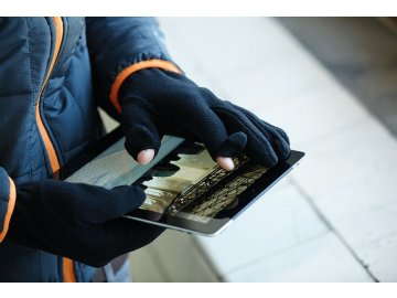 Funkční Micro Fleece rukavice