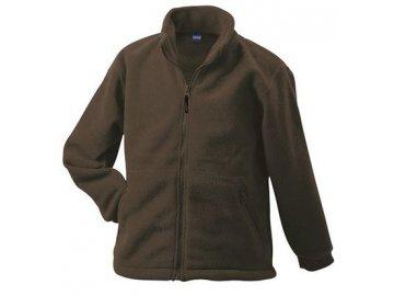 Pánská mikina Full-Zip Fleece (Barva Bílá, Velikost oděvů XXL)