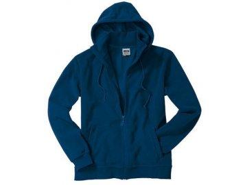 Pánská bunda Microfleece Jacket Hooded (Barva Červená, Velikost oděvů XXL)