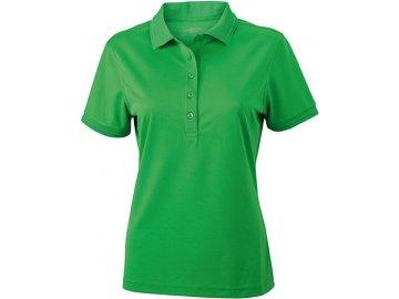 Dámská polokošilExtrémně pohodlná dámská funkční polokošile  zelená