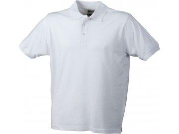 Pánská pracovní polokošile Workwear Polo (Barva Bílá, Velikost oděvů XXL)