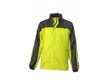 Funkční bunda Team Weather Jacket (Barva Červená - bílá, Velikost oděvů XXL)