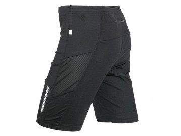 Dámské běžecké kraťasy Running Short Tights (Barva Černá, Velikost oděvů XL)