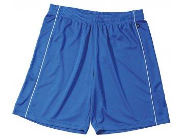 Dětské šortky Basic Team Shorts Junior (Barva Bílá - černá, Velikost oděvů XXL, Velikost oděvů - dětská XXL/158-164)
